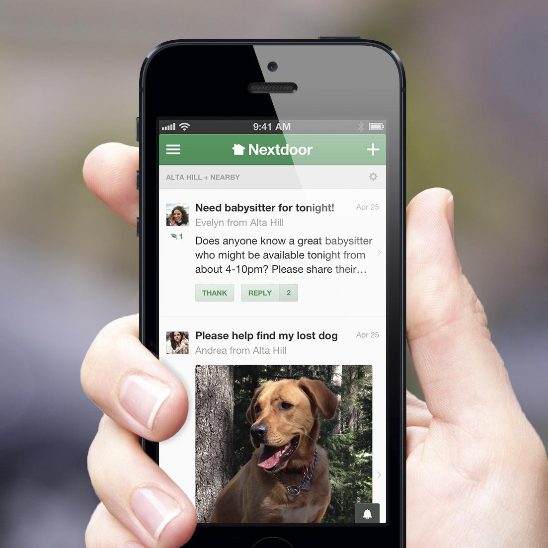 Nextdoor Brings Its NeighborhoodFocused Social Network To