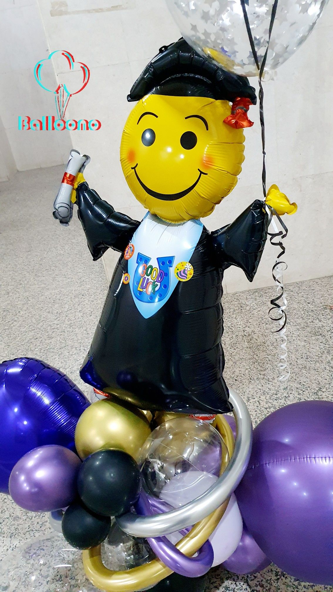Grad Balloons Bouquet Balloons Balloon Bouquet Best Gifts