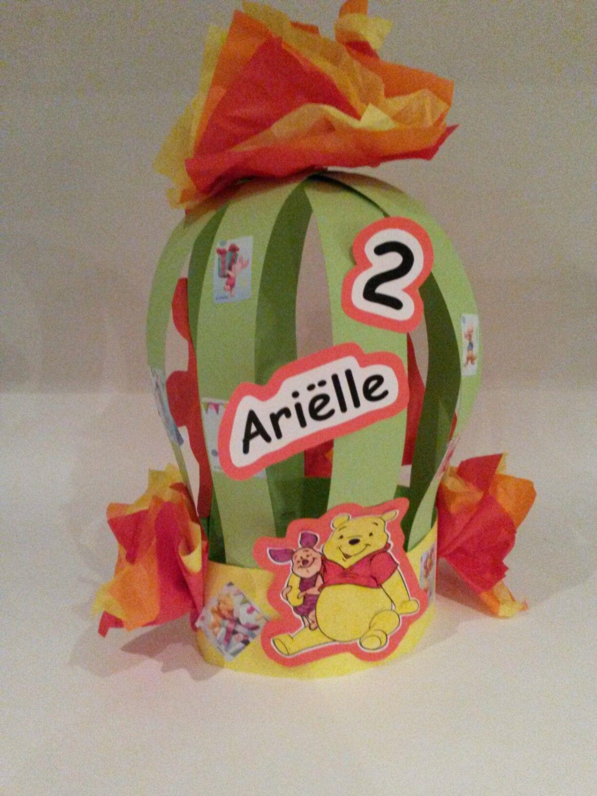 Winnie The Pooh Crown I Made For My Girl Who Turned 2 Pooh Kroon Verjaardag