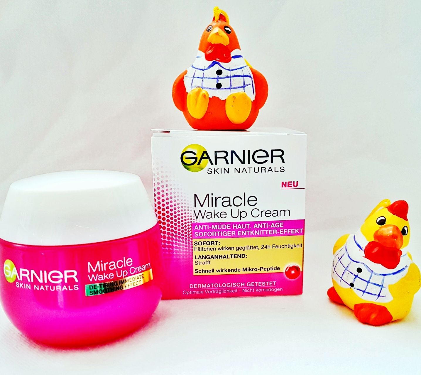 Testbericht Garnier Miracle WakeUp Cream