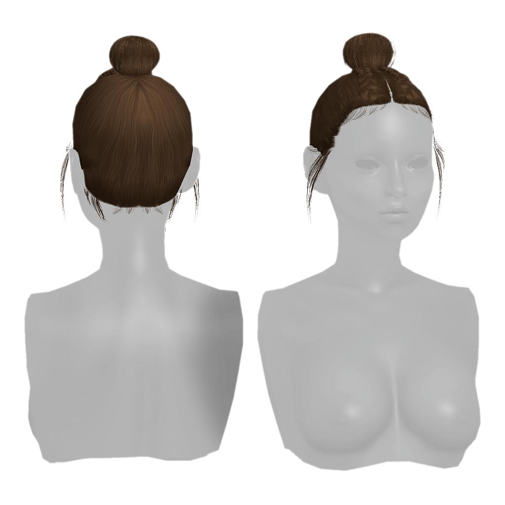 Natasha Hair - Grams Sims