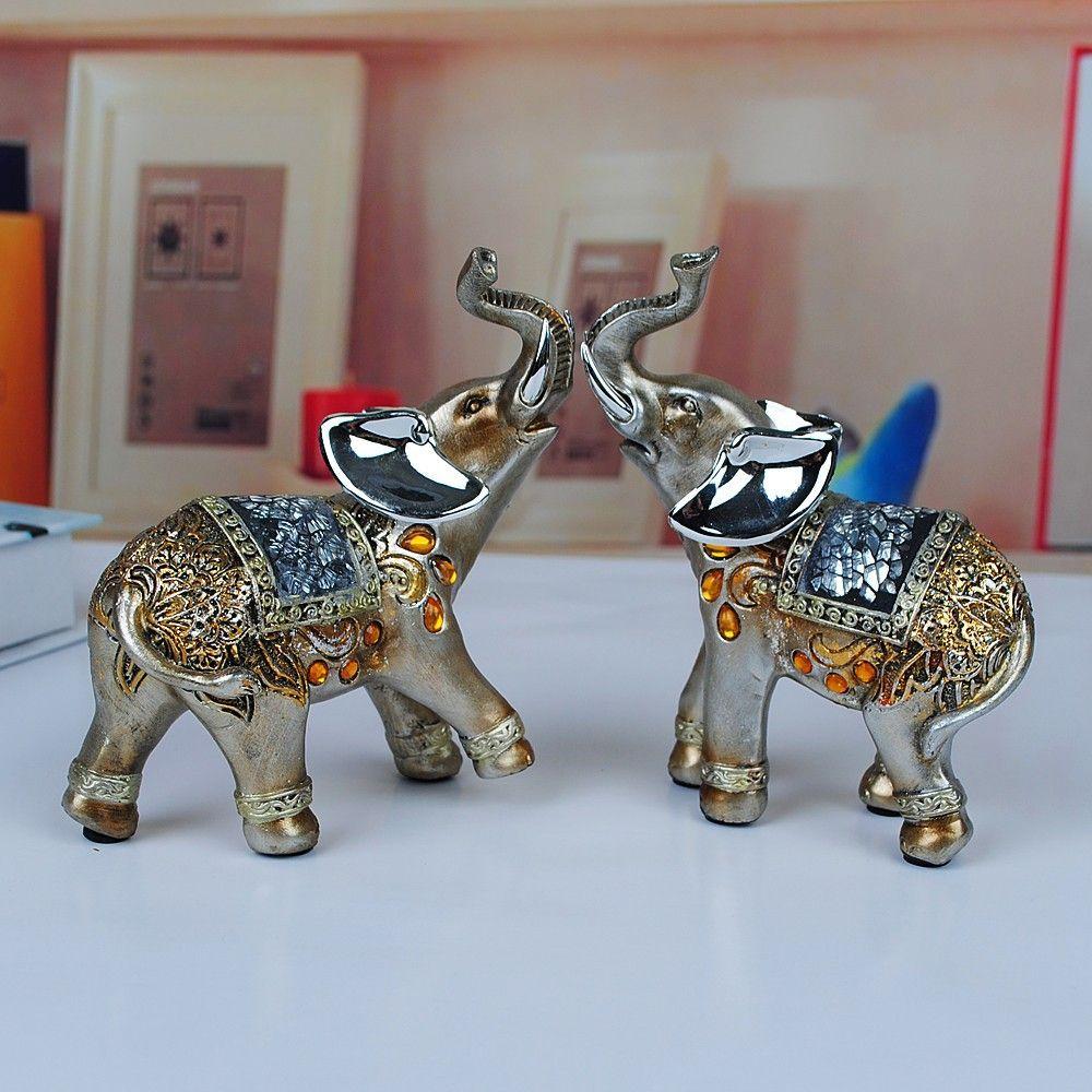 popularidad suerte lucky elefantes resina madre elefante