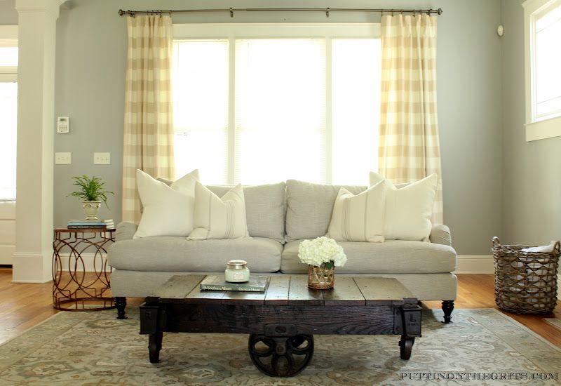 Puttin\u0027 on the GRITS my home Living Room Pinterest