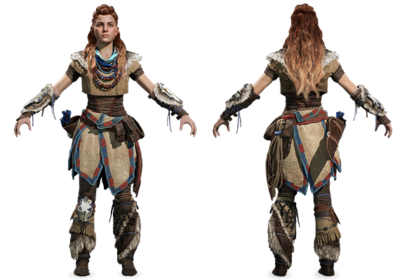 Image result for aloy's costume