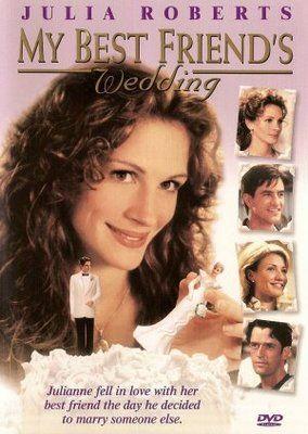 My Best Friend S Wedding Movie Poster 1997 Poster Wedding Movies My Best Friend S Wedding Best Friend Wedding