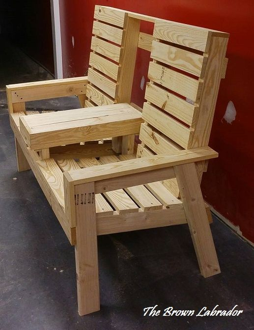 Diy Patio Chairs 2x4 S And 1x4 S Diy Outdoor Furniture