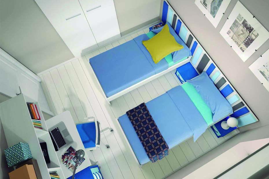 M2 Catálogo Habitación Juvenil Habitaciones Juveniles Camas Individuales Muebles Para Tienda