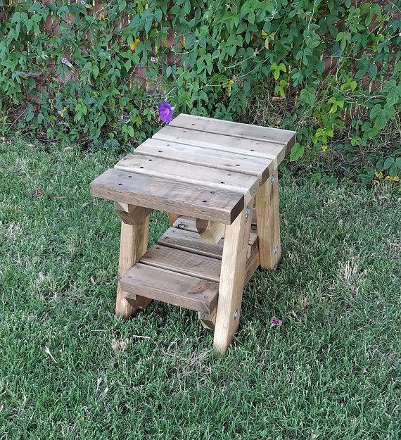 wood outdoor garden side table in 2019 products garden side rh pinterest com