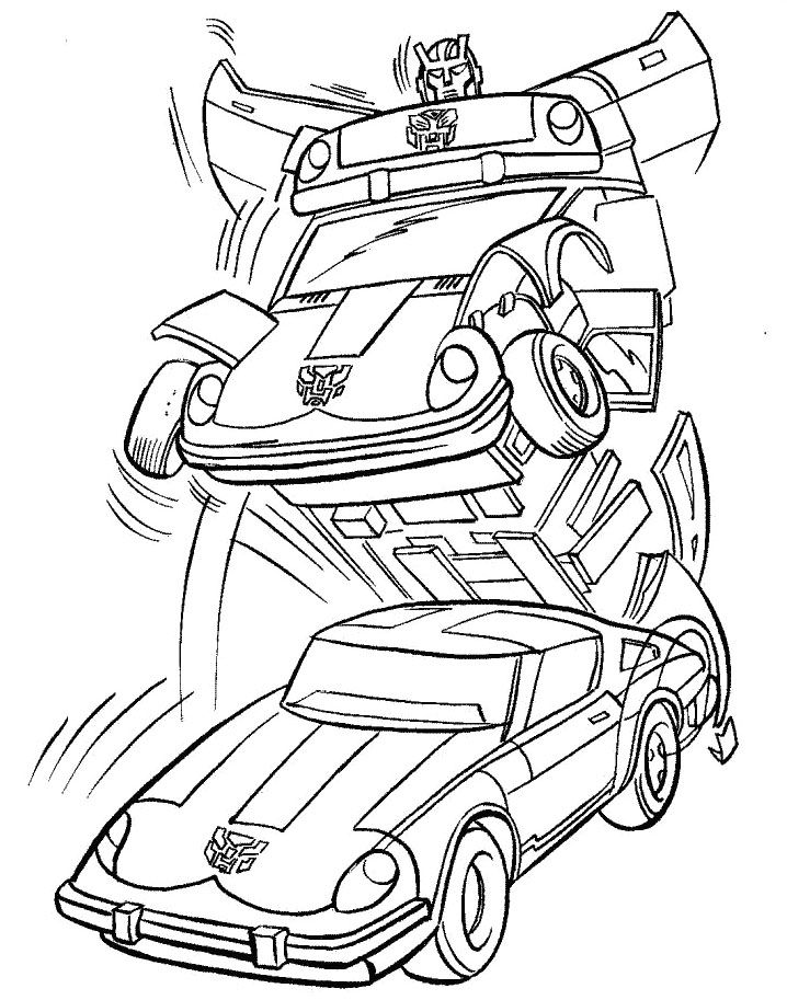 Changing Robot Transformers Coloring Pages Art Coloring Sheets - new transformers movie coloring pages