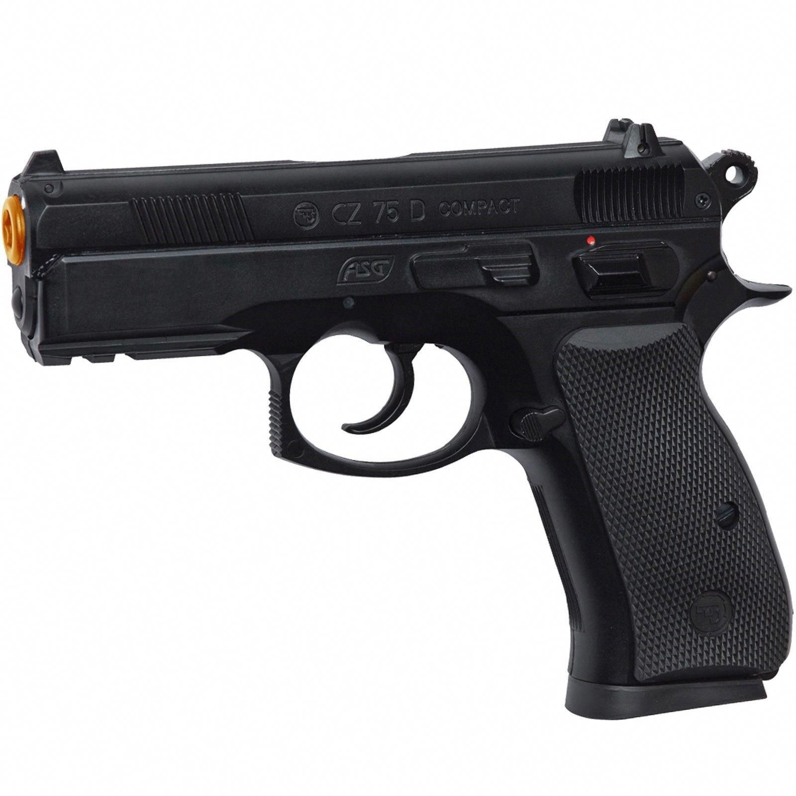 Other Gas Airsoft Guns 31685 Asg Licensed Cz 75D Compact Co2 Polymer Non BlowBack Airsoft Pistol 50064  BUY IT NOW ONLY 4499 on