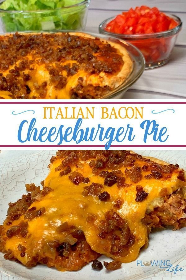 We always enjoy a classic hamburger and this Cheeseburger Pie with Pie Crust takes a classic meal t