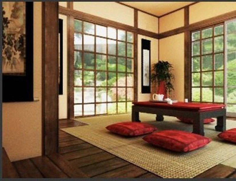 Small Nail Spa Salon Interior Design Japanese Living Room Decor Living Room Japanese Style Japanese Style Living Room Japanese style living room ideas