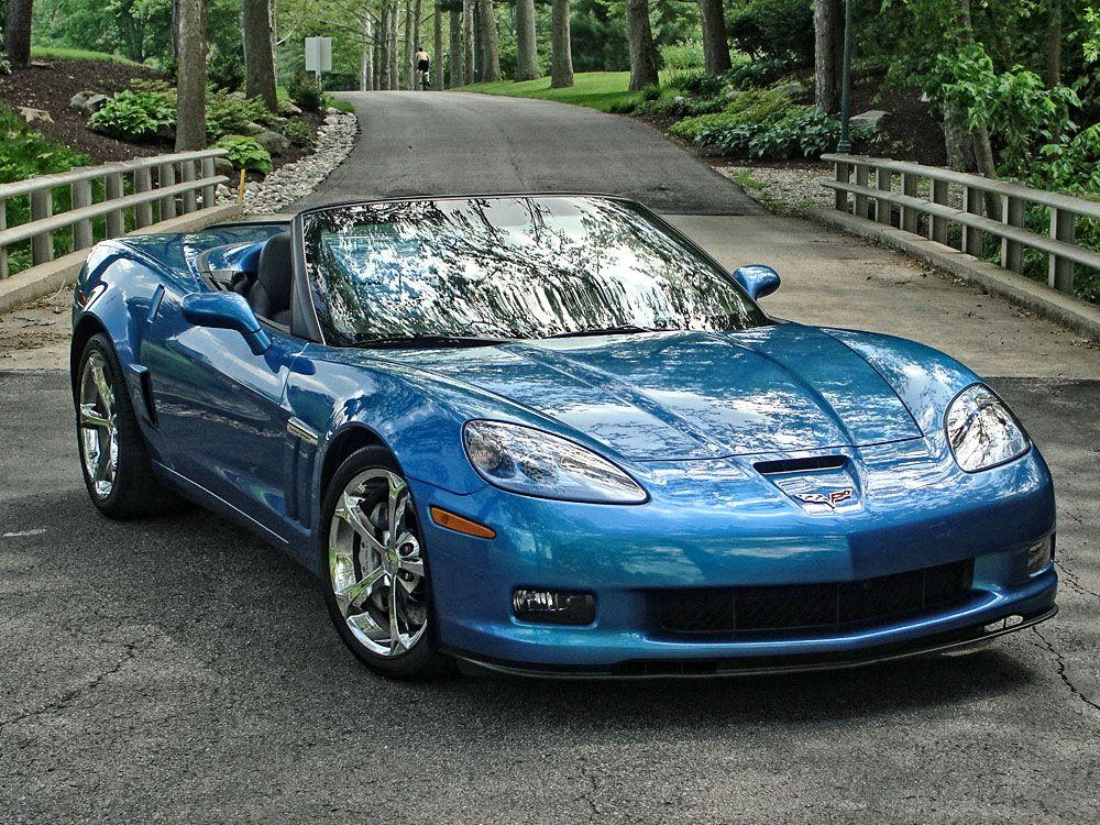 2010 Corvette Grand Sport Convertible 6.2L Jetstream Blue