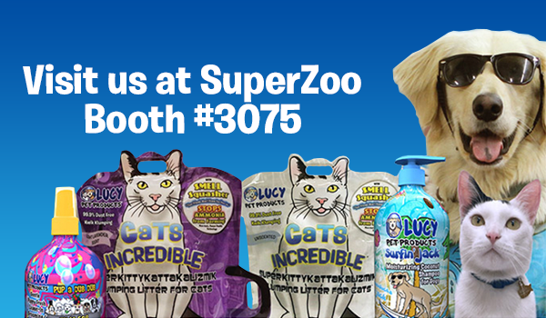 Viva Las Vegas! We'll be at SuperZoo this week in booth