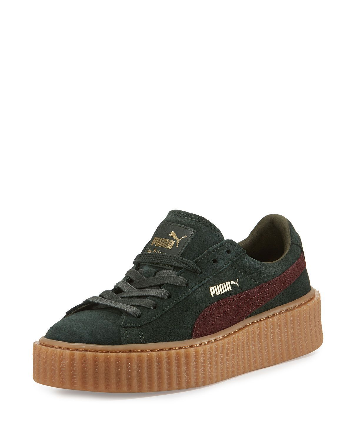 puma by rihanna creeper bordeaux