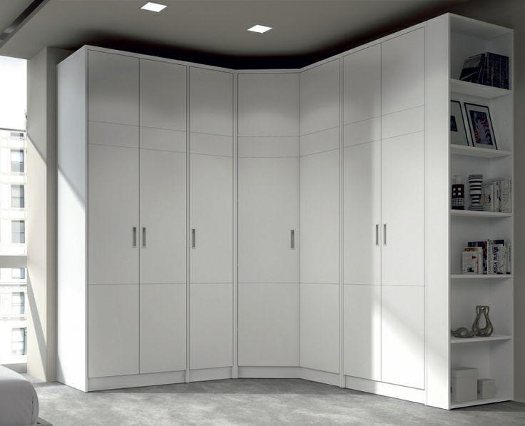 Closet curvo mobiliario bedroom wardrobe closet bedroom y bedroom decor - Armarios empotrados en esquina ...