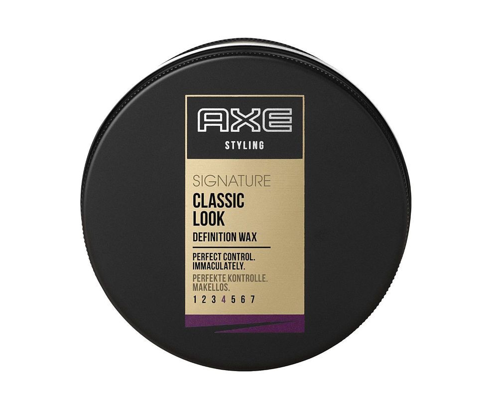 Axe Styling Signature Classic Look Hair Wax For Men 75ml 2 53 Fl Oz Axe Hair Wax Wax Man Hair Wax For Men