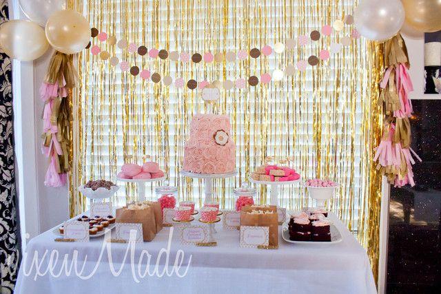 Pink Gold 60th Birthday