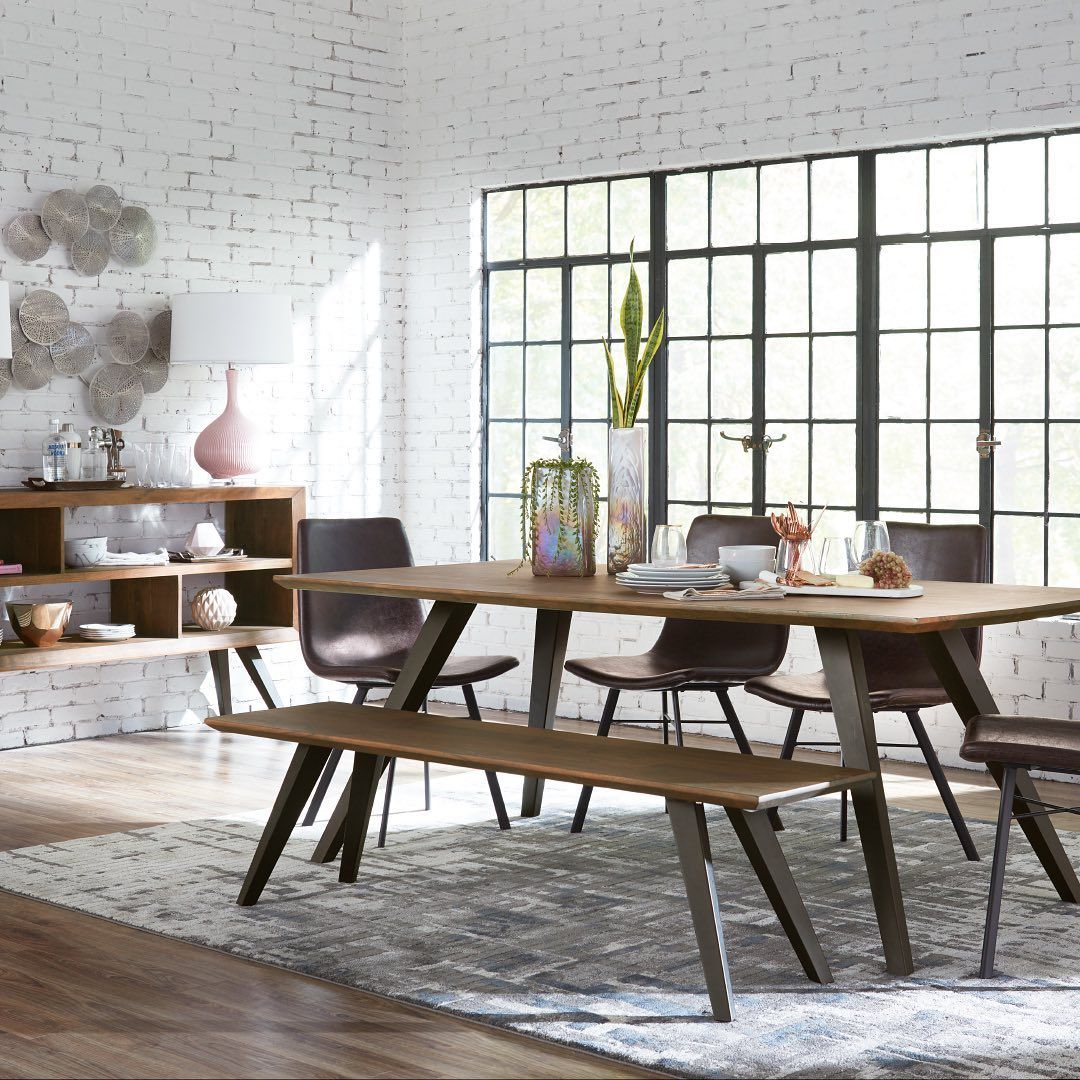 Havertys Furniture On Instagram Our Olsen Dining Collection Is Here Rectangle Or Round The Choice Is Yo Furniture Dining Table Mid Century Dining Room [ 1080 x 1080 Pixel ]