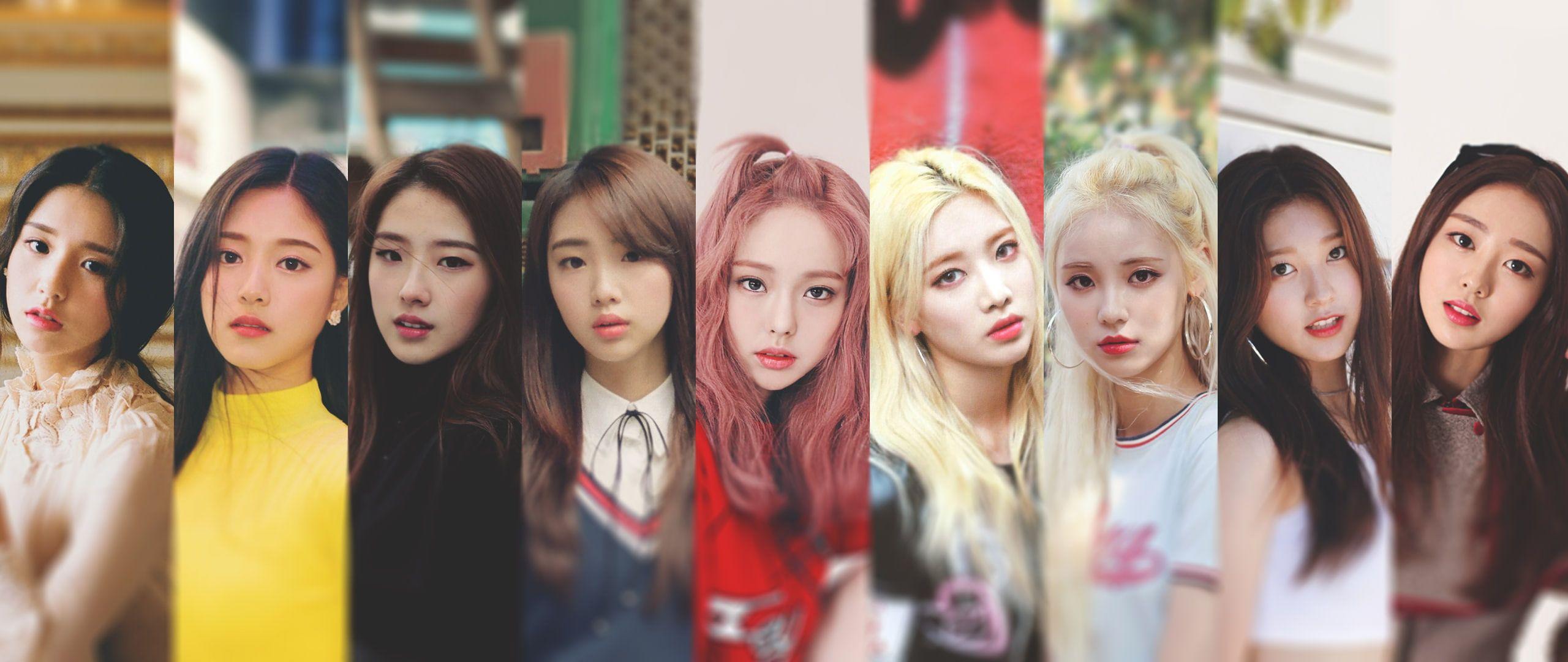 K Pop Loona Women Heejin Hyunjin Haseul Yeojin Kim Lip Jinsoul Choerry Yves Vivi 2k Wallpaper Hdwallpaper De Sulli Kpop Girls Korean Girl Groups