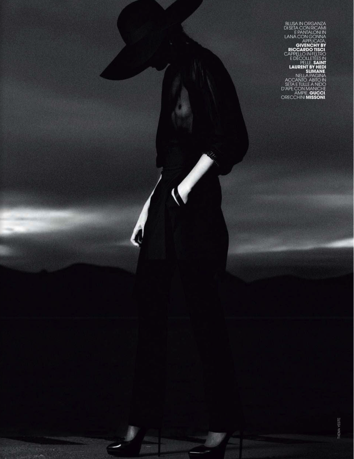 FASCINO & MISTERO: OPHELIE RUPP BY TXEMA YESTE FOR MARIE CLAIRE ITALIA MARCH 2013