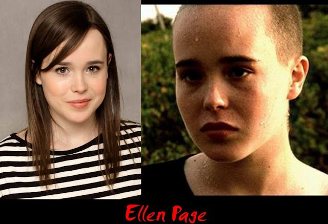 Ellen Page bald loss hair