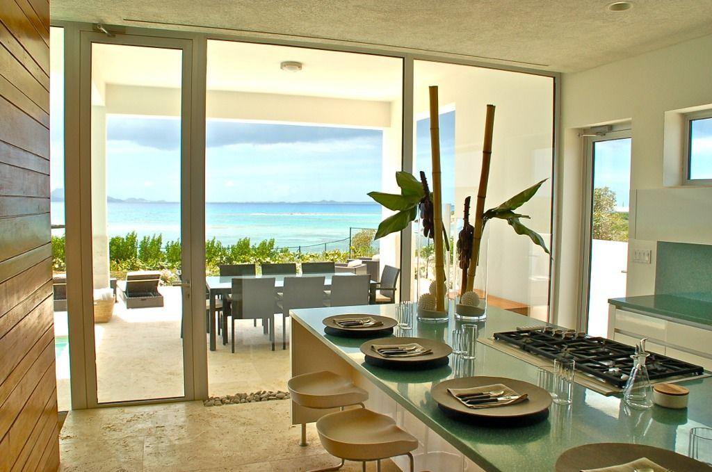 Modern kitchen, Beaches Edge Villa, Anguilla Villa | Design & Decor ...