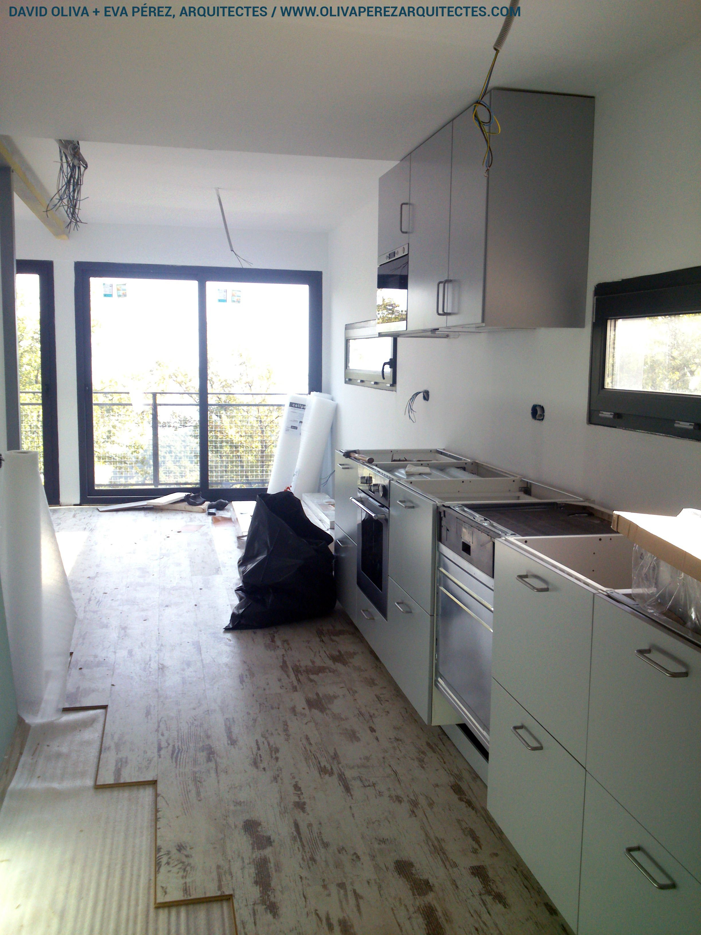 Container house in muntanyola barcelona construction process