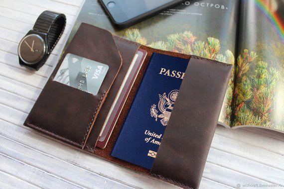 cb495b11bee9 Travel document wallet,Passport wallet,Mens passport wallet ...
