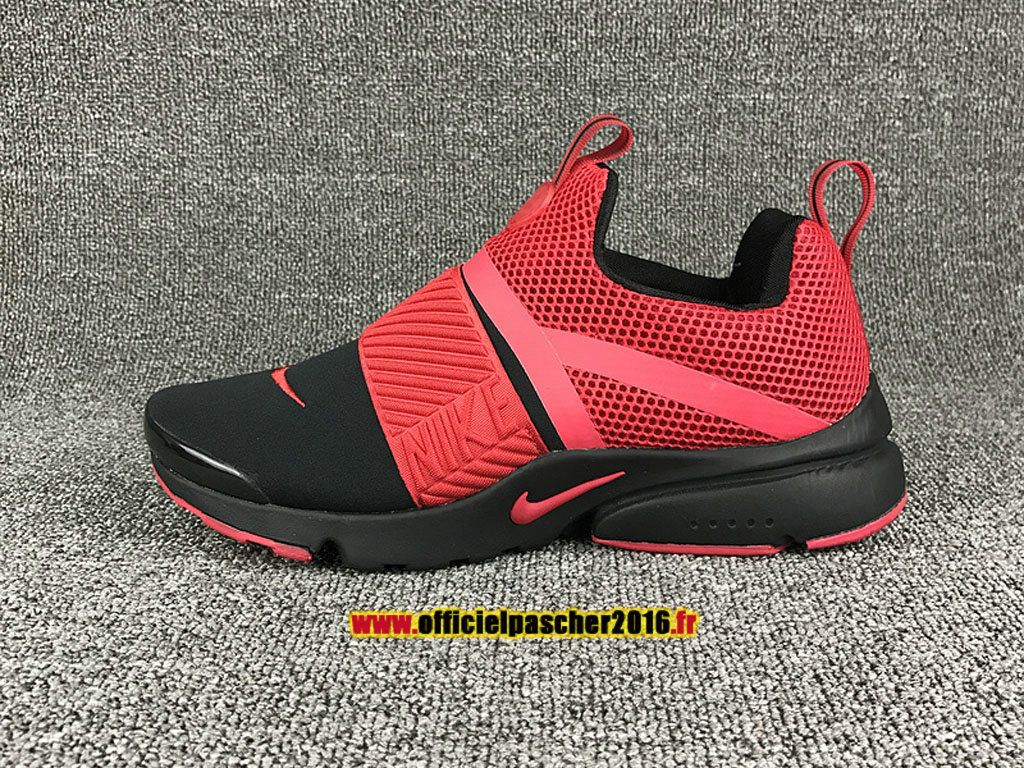 2017 nike air presto extrem chaussures nike officiel pas cher pour femme noir rouge nike air. Black Bedroom Furniture Sets. Home Design Ideas