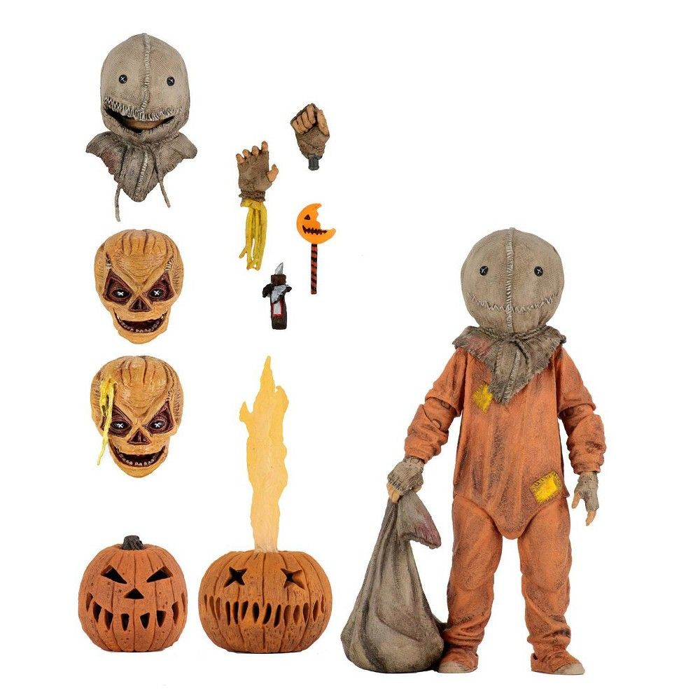 """Trick 'r Treat Sam 7"""" Action Figure In 2020"""