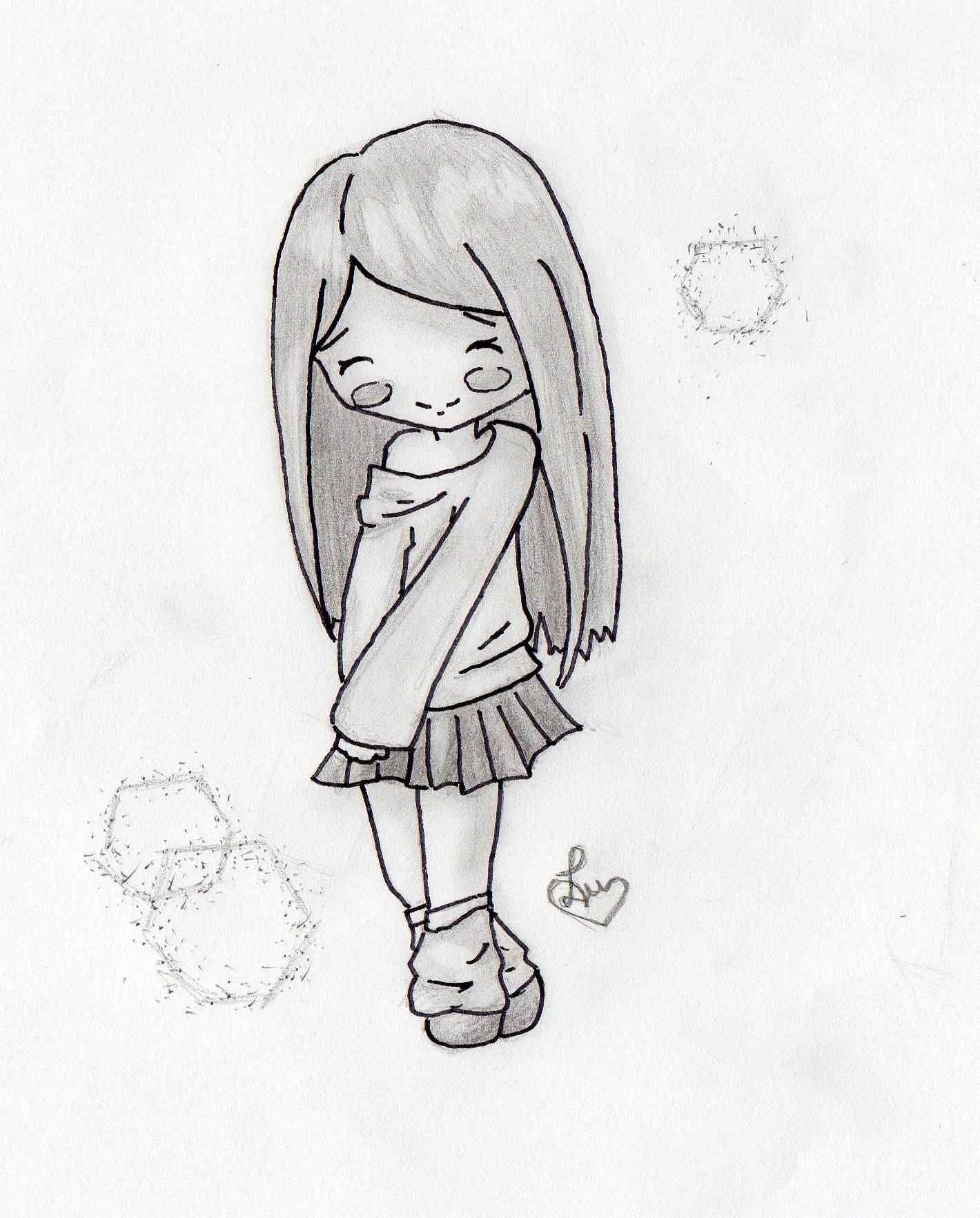33 Lovely Art Sketches Easy Simple Drawings Ideas Prekhome Pencil Drawings Easy Easy Drawings Anime Sketch