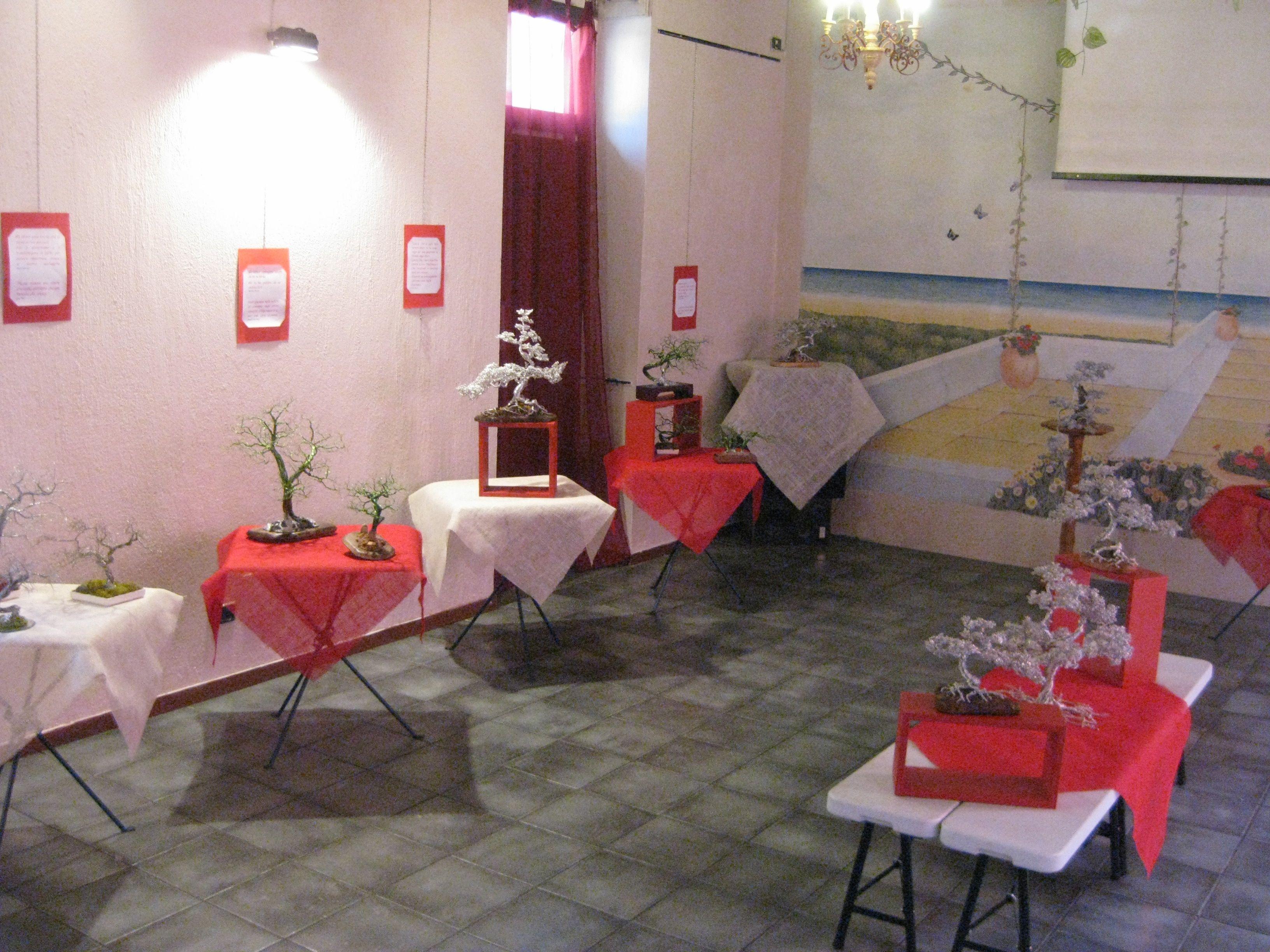 panoramica della mostra