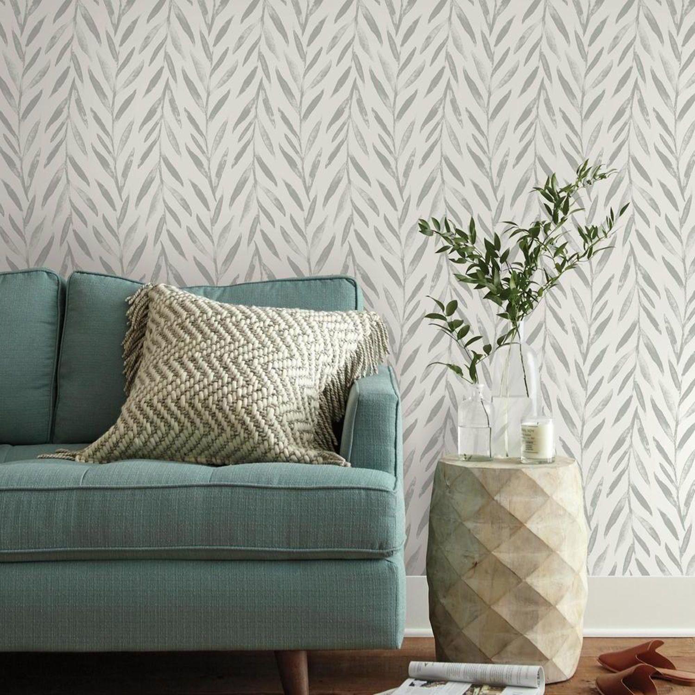 Magnolia Home Willow Grey Wallpaper Mk1137 Bellacor Magnolia Homes Peel And Stick Wallpaper Grey Wallpaper