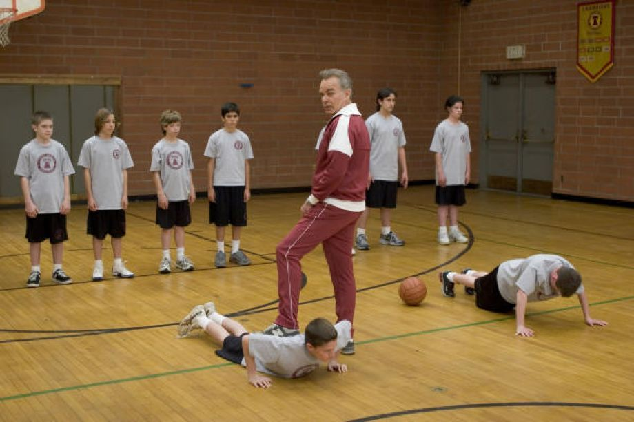 Mr. Woodcock thrives on PE teacher stereotypes Pe