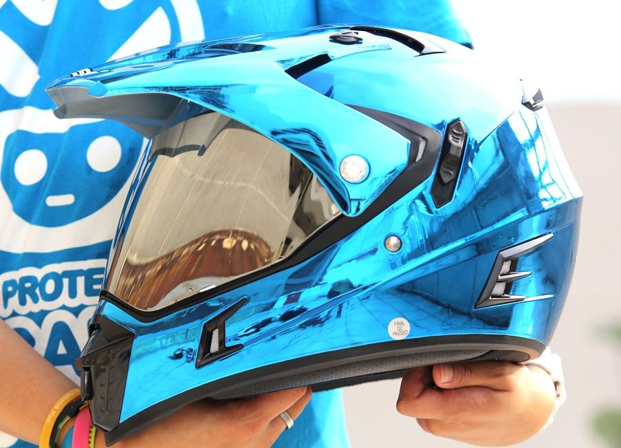 MASEI BLUE CHROME 311 ATV MOTOCROSS MOTORCYCLE ICON KTM