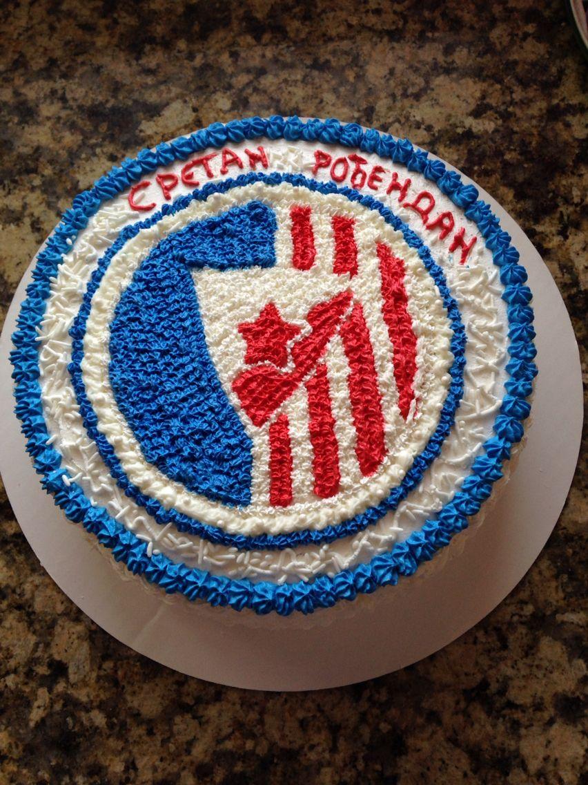 Google themes crvena zvezda - Crvena Zvezda Torta Cake