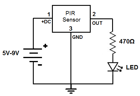 Simple Motiondetector Circuit Which Are Used As Security Systems In Banks Offices And Shopping Malls And Also As Intruder A Motion Detector Circuit Detector
