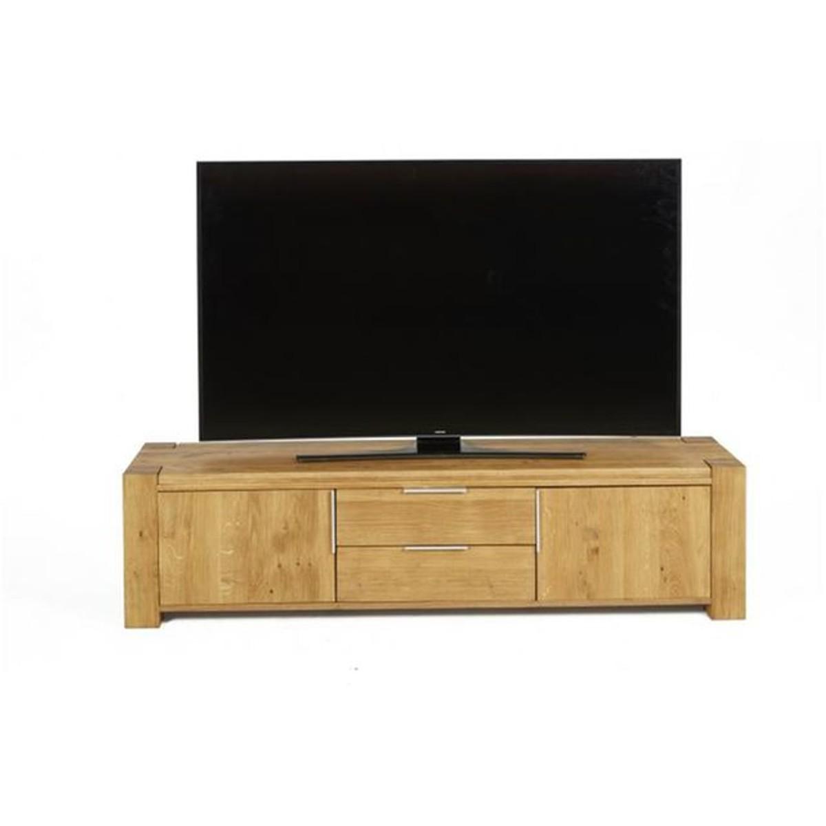 Meuble Tv Bois 2 Portes 2 Tiroirs Norna Products Meuble Tv
