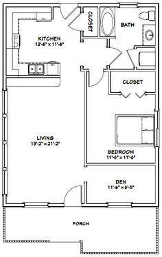 Tremendous 26X34 House 26X34H1C 884 Sq Ft Excellent Floor Download Free Architecture Designs Scobabritishbridgeorg