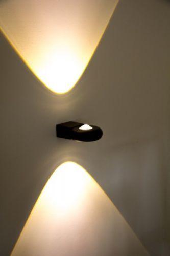 Led applique esterni lampada da parete design moderno alluminio grigio 165835 illuminazione - Applique da parete led ...