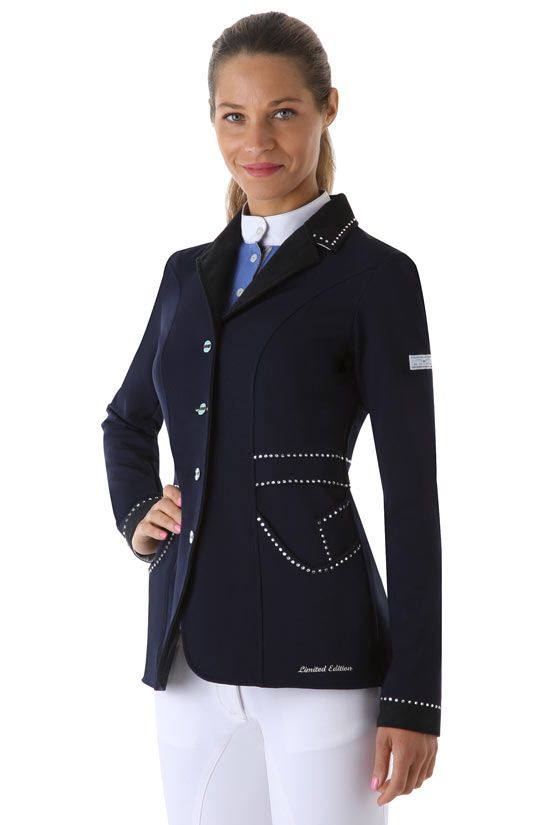 Love The Rhinestones On This Animo Competition Jacket All Things Horses Show