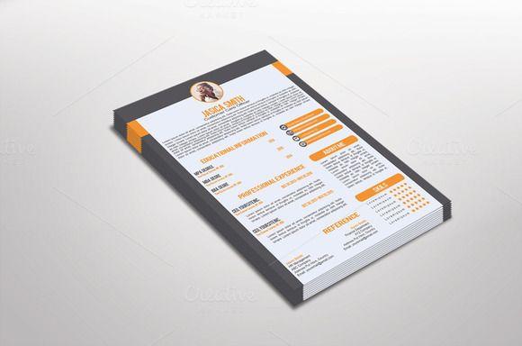 fotomi resume template design  creativework247