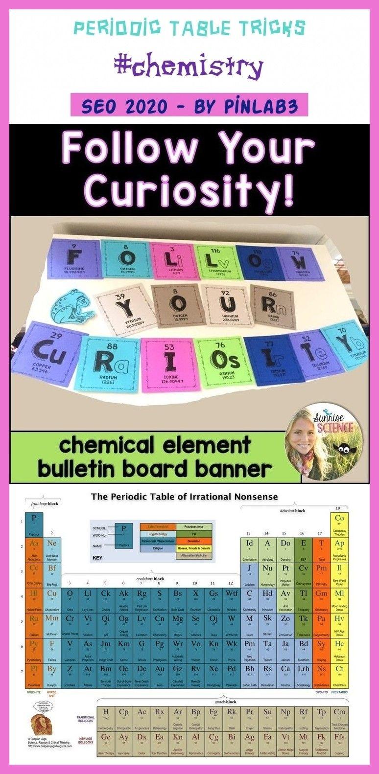 Periodic table tricks periodic table tricks