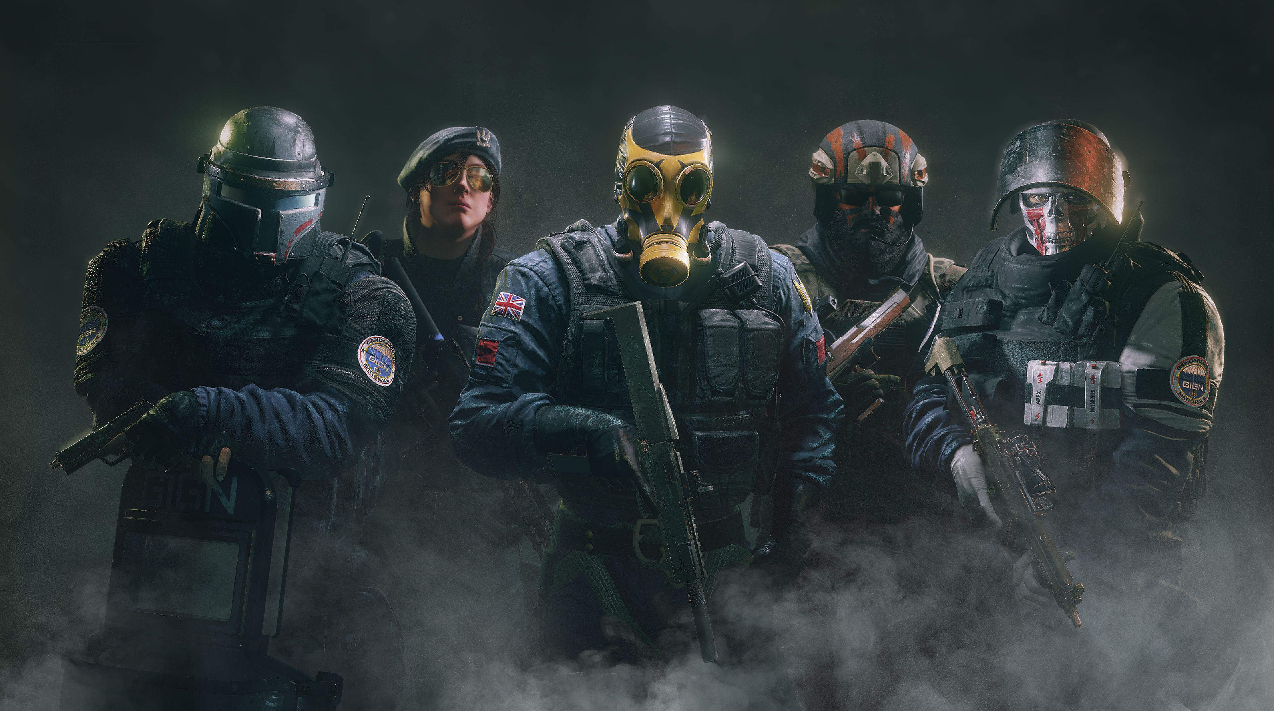 Rainbow Six Siege Operation Skull Rain Game Wallpaper Http
