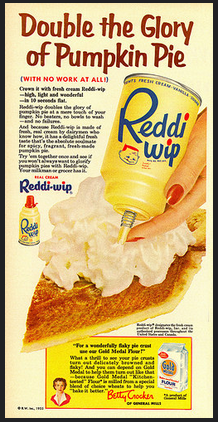 Vintage Ads Double The Glory Of Pumpkin Pie