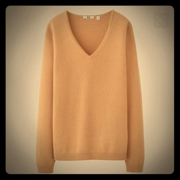 Uniqlo Cashmere Sweater | D, Uniqlo and Camel