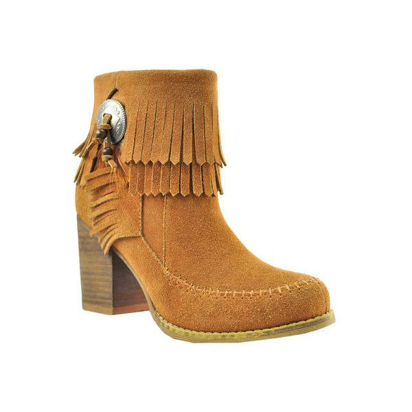 Cowboy boot outfits · Women's Sbicca Jessa Fringe Bootie ...