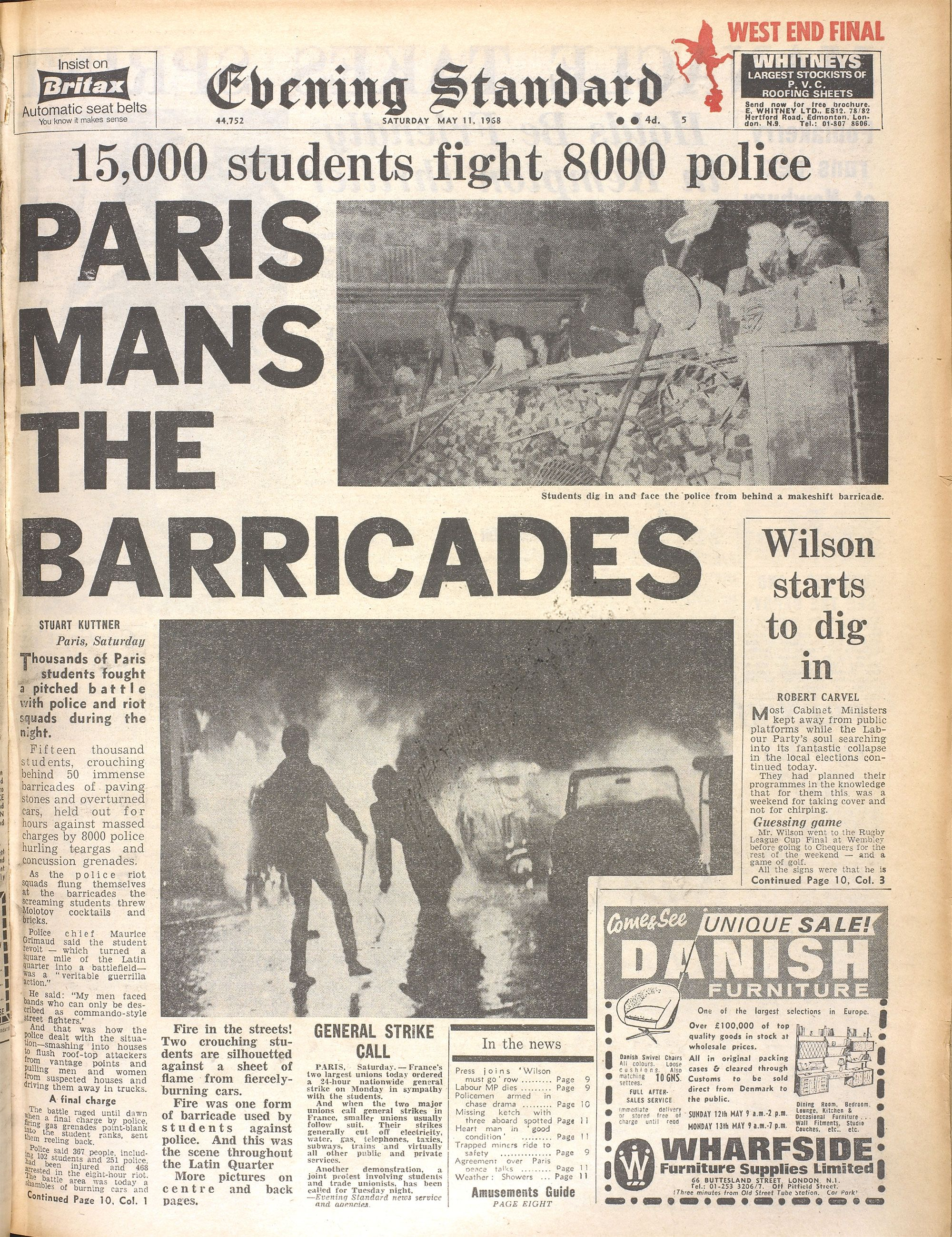 the student unrest began in paris s oversubscribed and underfunded universities frustration. Black Bedroom Furniture Sets. Home Design Ideas