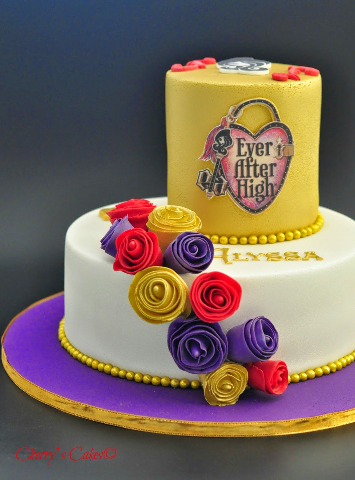 Cherry S Cakes Ever After High